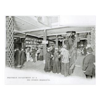 Département de disposition de Harrods, c.1901 Carte Postale