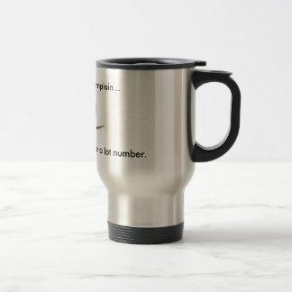 Département de plainte mug de voyage