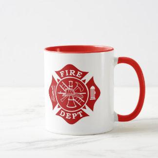 Département du feu/tasse croix maltaise de tasses