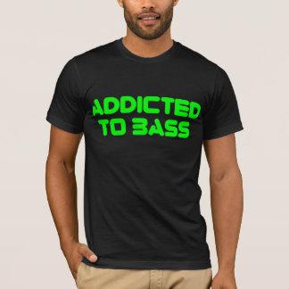 Dépendant à la basse t-shirt