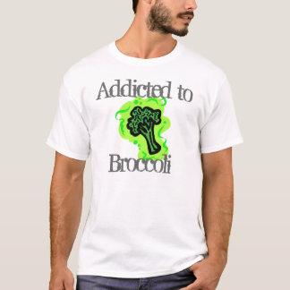 Dépendant au brocoli t-shirt