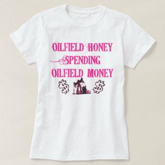 Dépense de miel de gisement de pétrole t-shirts