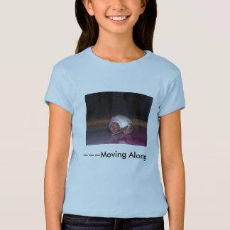 Déplacement le long du T-shirt