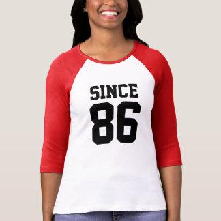 Depuis 1986 t-shirt