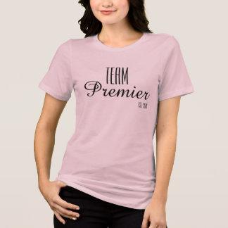 D'équipe rose de T-Shirt- Soft premier de Relaxed T-shirt