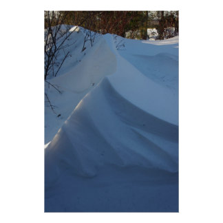 Dérive de neige posters