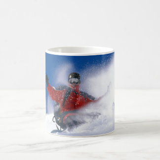 Dérive de neige mug blanc