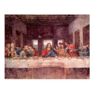 Dernier dîner par Leonardo da Vinci art de Renais Cartes Postales