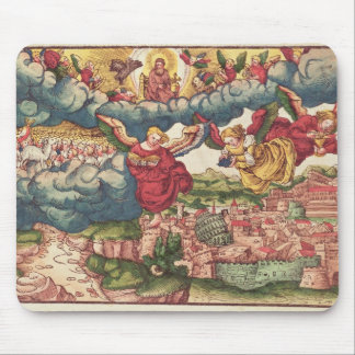Dernier jugement, de la bible de Luther, c.1530 Tapis De Souris