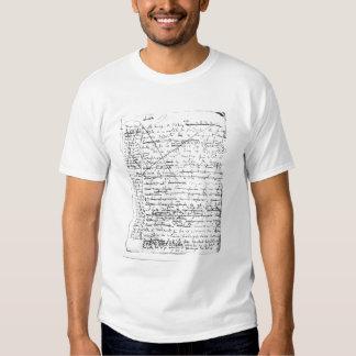Dernière page 'd'une La Recherche du Temps Perdu' T-shirt