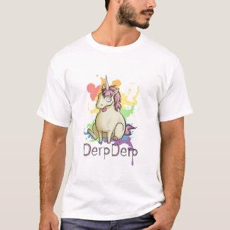 Derpderp la licorne t-shirt