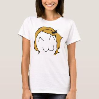 Derpina (sourire de Kitteh) - T-shirt adapté