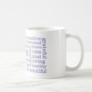 Des affirmations positives JE SUIS des Mug