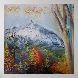 DES Alpes 3 de Paysage Posters