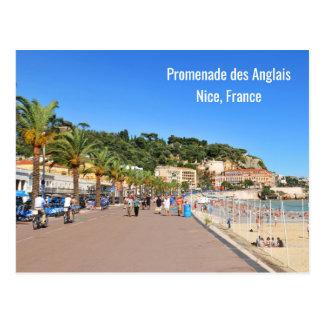 DES Anglais de promenade Carte Postale