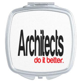 Des architectes il améliorent miroir de maquillage