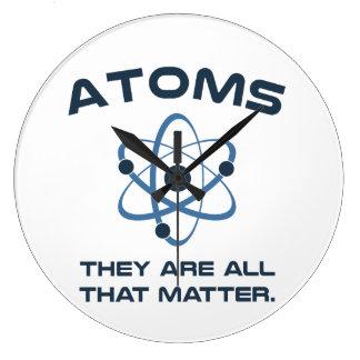 Des atomes ils sont tout ce qui importent pendules