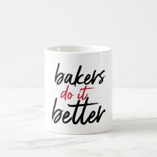 des boulangers il améliorent la tasse