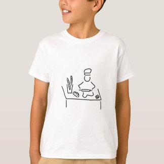 des boulangers pain cuisent t-shirt