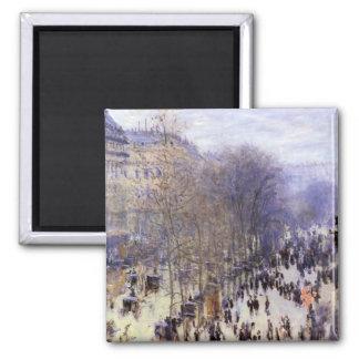 DES Capucines par Claude Monet, beaux-arts de Magnet Carré
