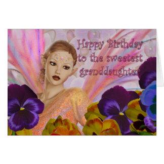Des cartes d'anniversaire de petite-fille -