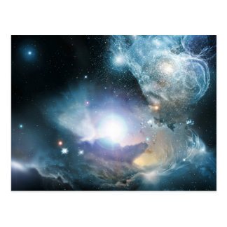 Des cendres des premières étoiles carte postale