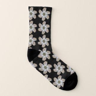 Des chaussettes de fleur d'huître - concevez un