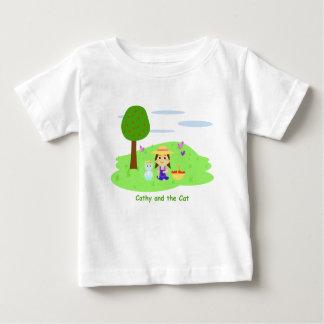 Des chaussures en toile pour boivent «Cathy and T-shirt Pour Bébé