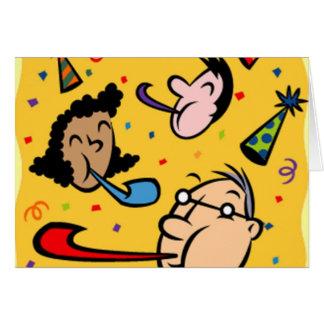 Des cotillons pour le nouvel an - cartes de vœux