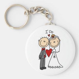 Des couples de mariage je fais le T-shirts et les  Porte-clé Rond