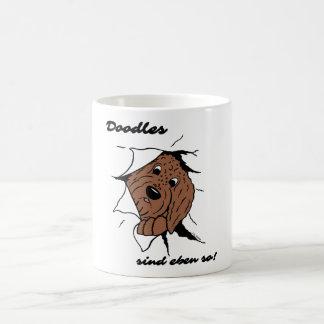 Des Doodles sont justement ainsi ! Mug