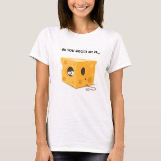 | des FEMMES qui a déplacé mon T-shirt de fromage
