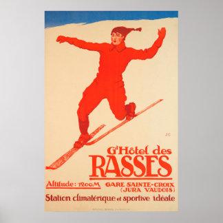 DES grand Rasses, cru de Hôtel de Sainte-Croix Poster