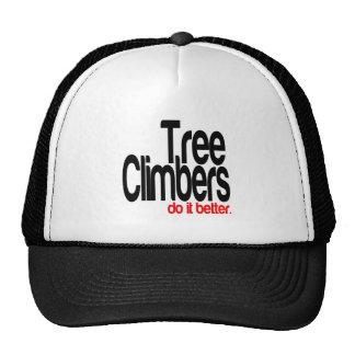 Des grimpeurs d'arbre il améliorent casquette de camionneur