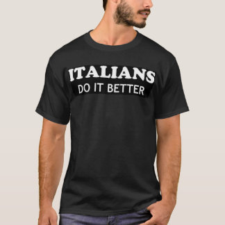 Des Italiens il améliorent - Madonna T-shirt