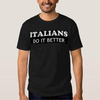 Des Italiens il améliorent - Madonna T-shirts
