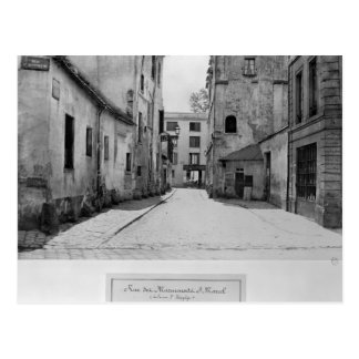 DES Marmousets Saint-Marcel de rue Carte Postale