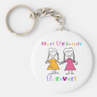 Des meilleurs amis cadeaux pour toujours BFF Porte-clefs