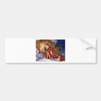 Des montres de Père Noël en tant que présents sont Adhésifs Pour Voiture