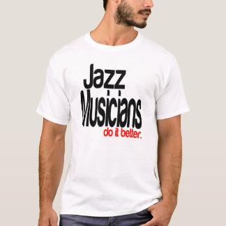 Des musiciens de jazz il améliorent t-shirt
