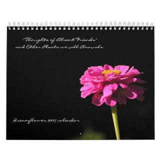 Des plantes nous appelons des annuaires : calendrier mural