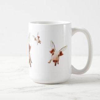Des porcs volant - croyez mug