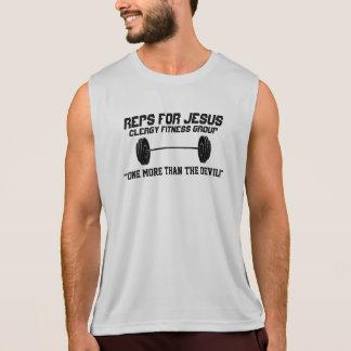 Des reps pour le T-shirt de Jésus - exorcisez