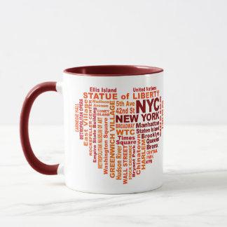 Des tasses de NYC - choisissez le style et la