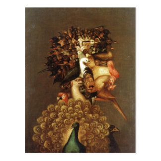 Description sommaire Giuseppe Arcimboldo l'air. Cartes Postales