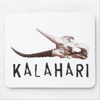 Désert de Kalahari en Afrique : Crâne mort Tapis De Souris