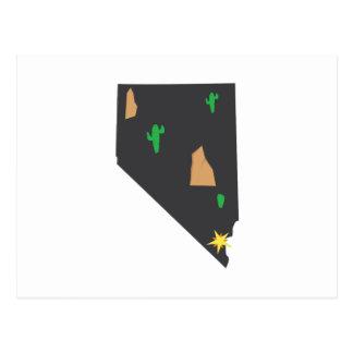Désert du Nevada Cartes Postales