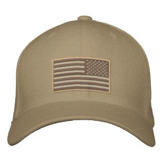 Désert renversé par drapeau des USA Casquette Brodée