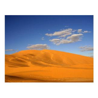 Désert saharien en carte postale du Maroc
