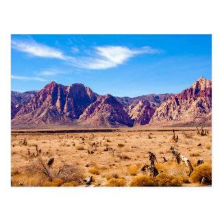 Déserts du Nevada Carte Postale